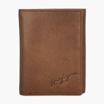 TOMMY HILFIGER Textured Three-Fold Wallet