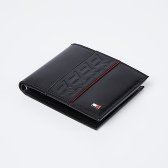 TOMMY HILFIGER Genuine Leather Wallet with Branding
