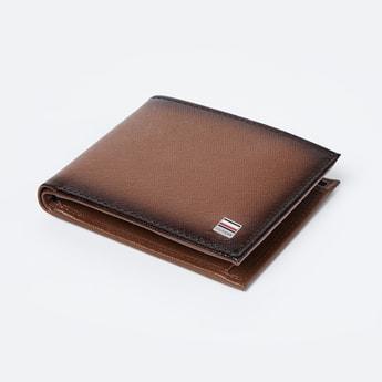 TOMMY HILFIGER Genuine Leather Textured Wallet