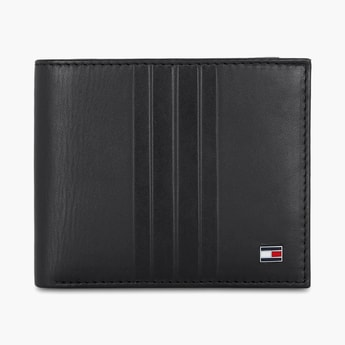 TOMMY HILFIGER Textured Bi-Fold Wallet