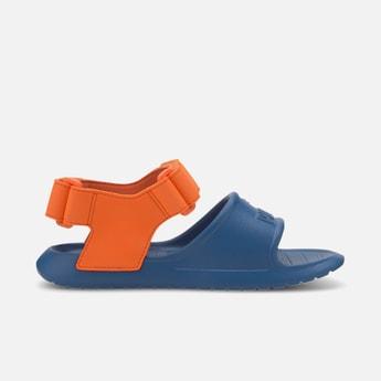 PUMA Colourblocked Velccro-Strap Sandals