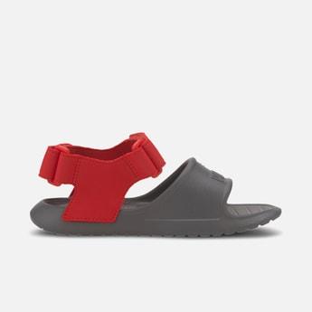 PUMA Colourblocked Velcro-Strap Sandals