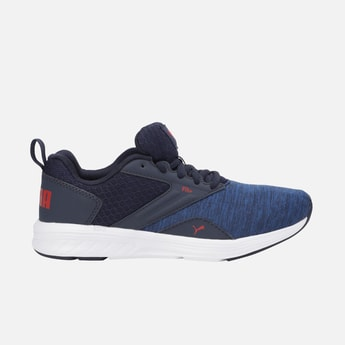 PUMA Textured Lace-Up Casual Shoes
