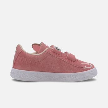 PUMA Printed Velcro-Strap Casual Shoes