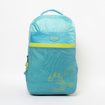AMERICAN TOURISTER Printed Backpack with Padded Straps