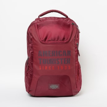 AMERICAN TOURISTER Printed Backpack with Rain Cover
