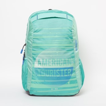 AMERICAN TOURISTER Printed Zip-Closure Backpack