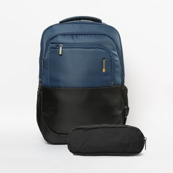 AMERICAN TOURISTER Solid Backpack with Pouch