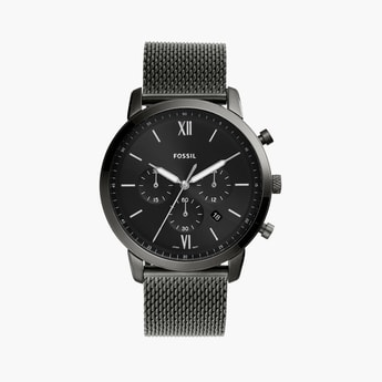 FOSSIL Neutra Chronograph Black Dial Men's Watch -  FS5699