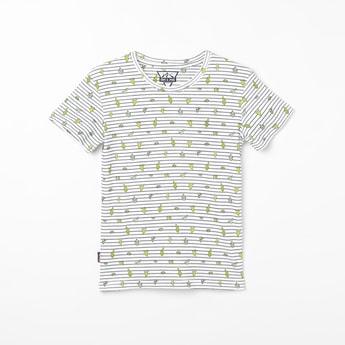 GINI & JONY Printed Crew Neck T-shirt