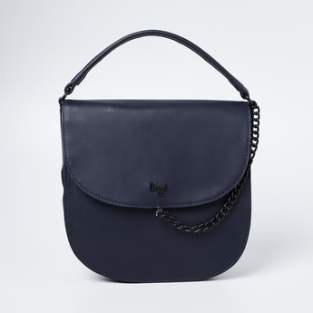 BAGGIT Textured Sling Bag with Detachable Strap