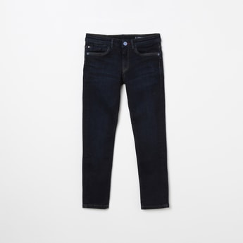 ALLEN SOLLY Solid Slim Fit Jeans