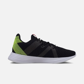 PUMA Colourblocked Lace-Up Running Shoes
