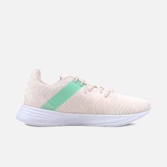 PUMA Textured Lace-Up Running Shoes