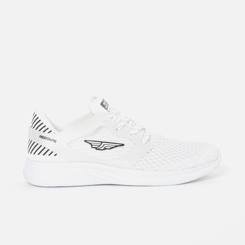 REDTAPE ATHLEISURE Mesh Textured Lace-Up Casual Shoes
