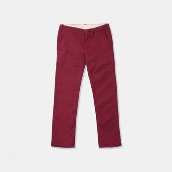 GAP Boys Solid Regular Trousers