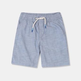 GAP Boys Textured Elasticated Shorts