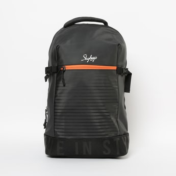 SKYBAGS Printed Unisex Laptop Backpack with Rain Cover