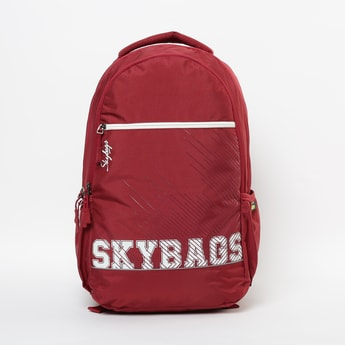 SKYBAGS Printed Backpack with Rain Cover