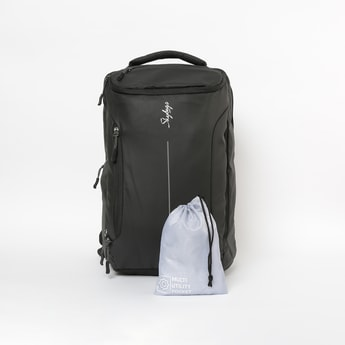 SKYBAGS Solid Backpack With Multi Utility Bag and Rain Cover