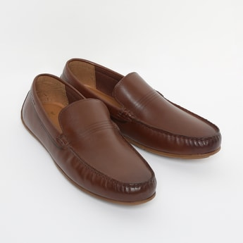 RED TAPE Genuine Leather Solid Loafers