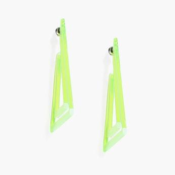 TONIQ Geometric Shaped Drop Earrings