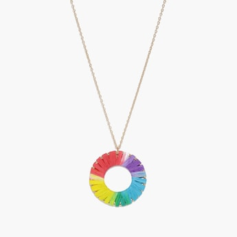 TONIQ Gold-Toned Necklace with Pendant