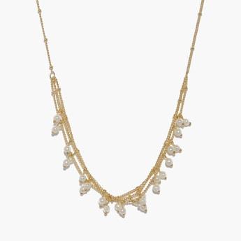 TONIQ Beaded Detailed Necklace