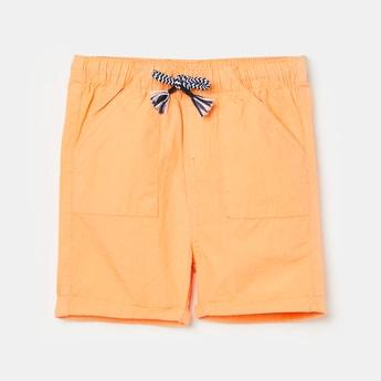 FS MINI KLUB Boys Solid Drawstring Waist Shorts