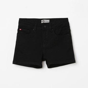 LEE COOPER JUNIORS Solid Denim Shorts