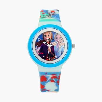 ZOOP Girls Disney Princess Print Water-Resistant Analog Watch - 26006PP06