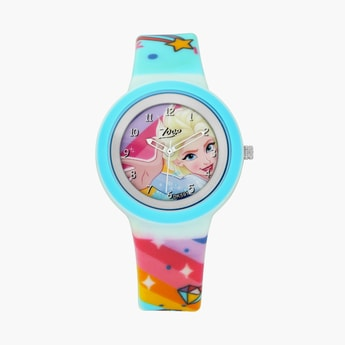 ZOOP Girls Frozen Print Analog Watch - 26006PP07