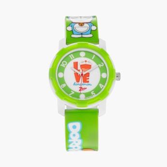 ZOOP Kids Doraemon Print Water-Resistant Analog Watch - 26015PP02F