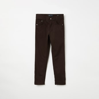INDIAN TERRAIN Solid Casual Trousers