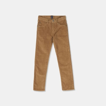 GAP Boys Solid Corduroy Trousers