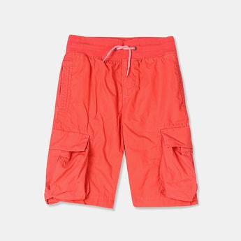 GAP Boys Solid Cargo Shorts
