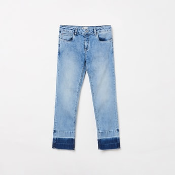 LEE COOPER JUNIORS Girls Stonewashed Jeans