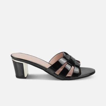 TRESMODE Women Solid Block Heels