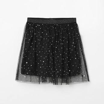 ALLEN SOLLY Embellished Skirt