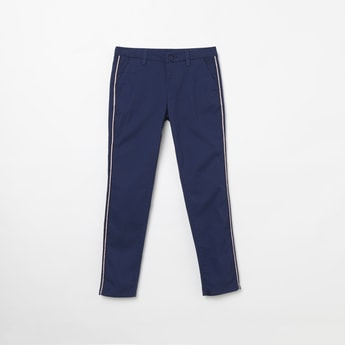 ALLEN SOLLY Solid Casual Trousers