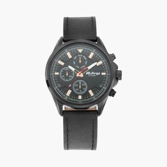 TITAN Men Water-Resistant Multi-functional Watch-90107NL01