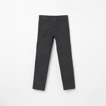 INDIAN TERRAIN Checked Regular Fit Trousers