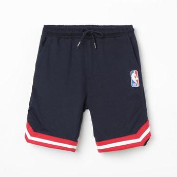 NBA Striped Elasticated Shorts