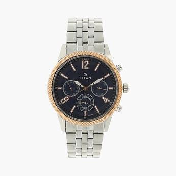 TITAN Workwear Round Dial Multifunctional Men's Watch - NM1734KM01