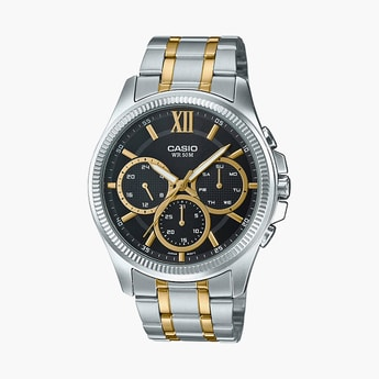 CASIO Enticer Men Chronograph Watch - MTP-E315HSG-1AV (A1775)