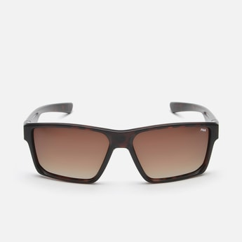 FILA Men Polarised Rectangular Sunglasses - SF9480K583AZP