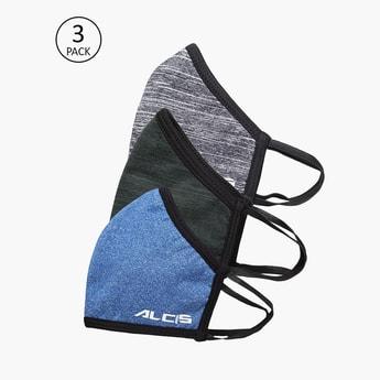 ALCIS Men 6-Layered Reusable Ultrashield Face Masks - Pack of 3 Pcs.