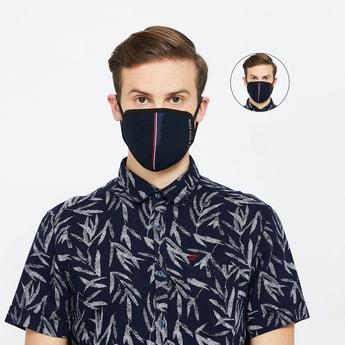 U.S. POLO ASSN. Men Reusable 3-Layered Face Masks - Pack of 2 Pcs.