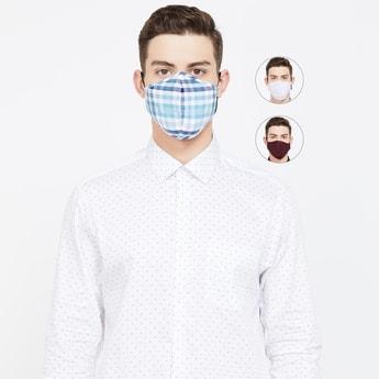 VAN HEUSEN Men Assorted BFE-Tested Masks -Pack of 3 Pcs.