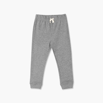 THE CHILDREN'S PLACE Boys Textured Elasticated Joggers